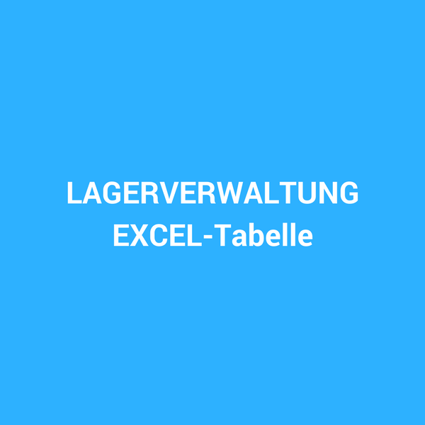 EXCEL Tabelle – Fallzahlenanalyse