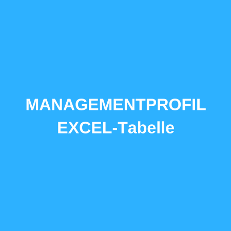 Managementprofil