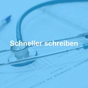 Schneller schreiben, Rudolf Loibl, Praxis, Arzt, Praxisorganisation