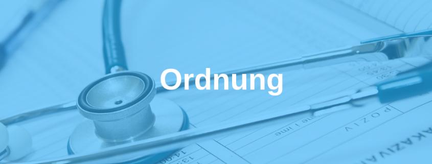 Arztpraxis, Ärzte, Ordnung, Rudolf Loibl