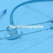 Patientensprache