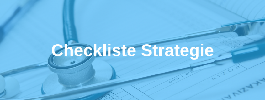 Checkliste Strategie